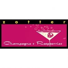ZotterChampagne And Raspberries 70g
